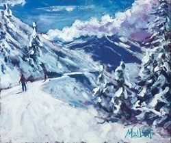 Winter Fun by Timmy Mallett -  sized 12x10 inches. Available from Whitewall Galleries