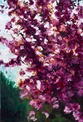 Cherry Blooms by Timmy Mallett -  sized 8x12 inches. Available from Whitewall Galleries