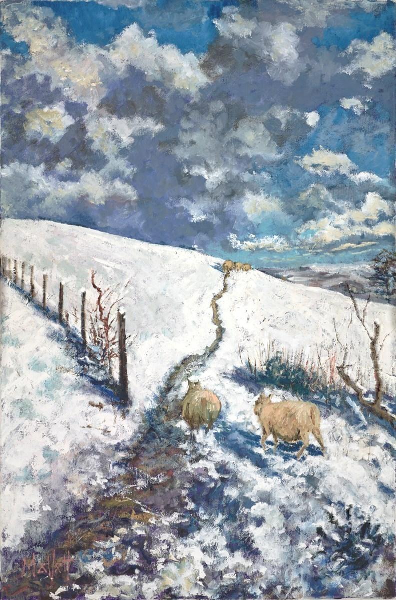 Snowy Flock