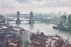 London City Views III by Helios -  sized 30x20 inches. Available from Whitewall Galleries