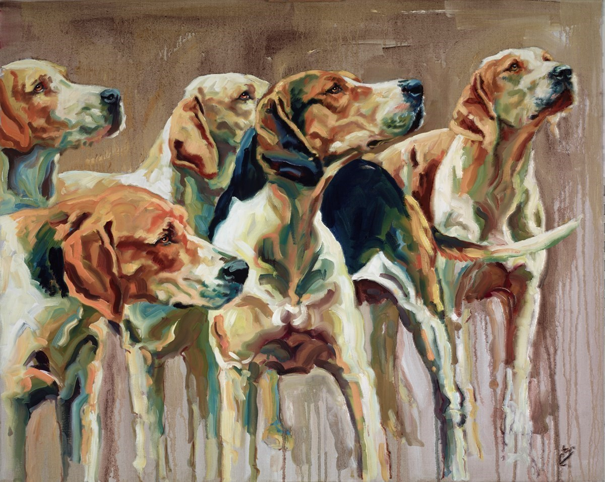 Headliners by Joy Harris -  sized 39x31 inches. Available from Whitewall Galleries