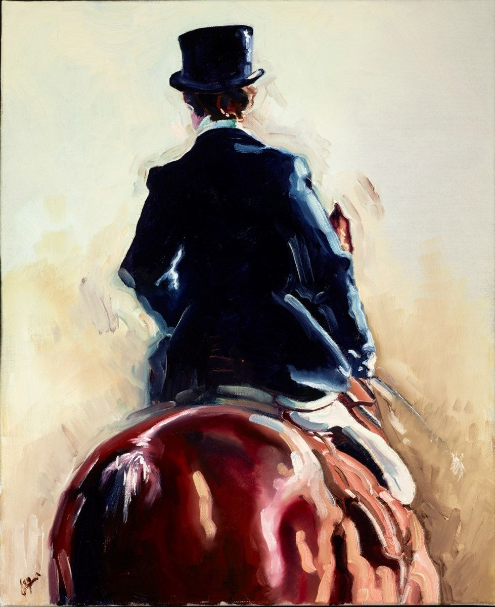 Top Hat by Joy Harris -  sized 20x24 inches. Available from Whitewall Galleries