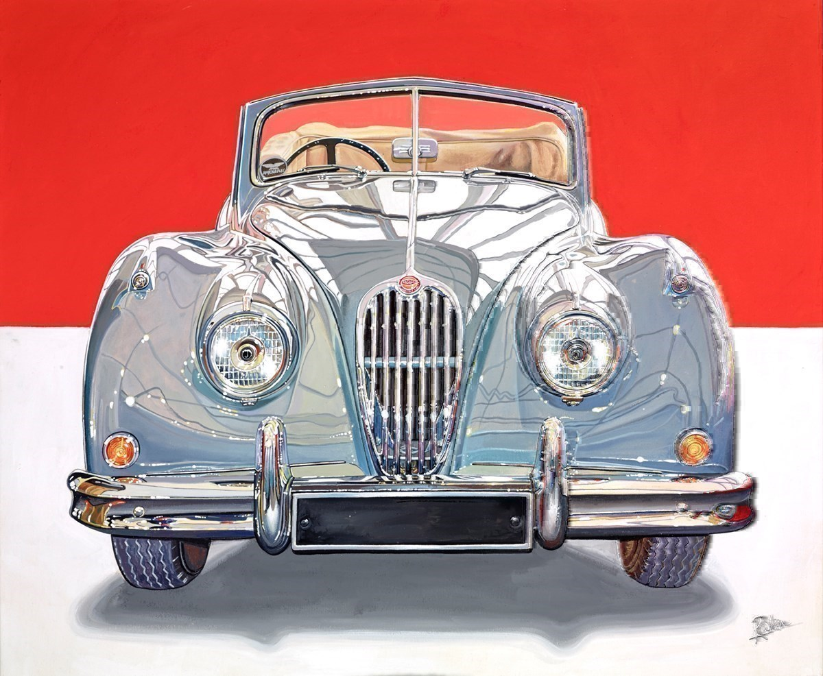 1955 Jaguar XK140 Roadstar
