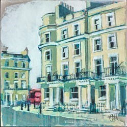 Missed the Bus! by Camilla Dowse -  sized 10x10 inches. Available from Whitewall Galleries