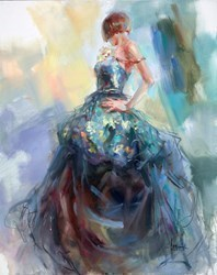 Fragrant of Spring II  by Anna Razumovskaya -  sized 24x30 inches. Available from Whitewall Galleries
