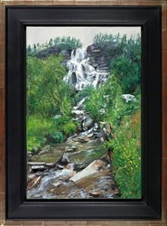 Tvinde Waterfall by David Porteous Butler -  sized 16x24 inches. Available from Whitewall Galleries