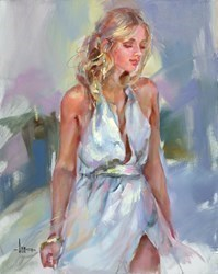Some Blue Day by Anna Razumovskaya -  sized 24x30 inches. Available from Whitewall Galleries