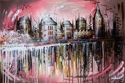 Rosy Waters by Samantha Ellis -  sized 36x24 inches. Available from Whitewall Galleries