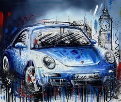 Life in the Fast Lane  by Samantha Ellis -  sized 24x20 inches. Available from Whitewall Galleries