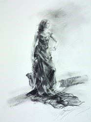 The Wonder of You I by Anna Razumovskaya -  sized 15x20 inches. Available from Whitewall Galleries