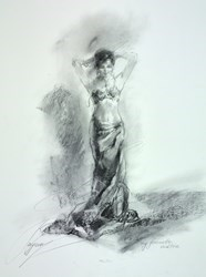 My Favourite Necklace by Anna Razumovskaya -  sized 15x20 inches. Available from Whitewall Galleries