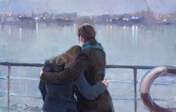 Leaving Port by Kevin Day -  sized 16x10 inches. Available from Whitewall Galleries