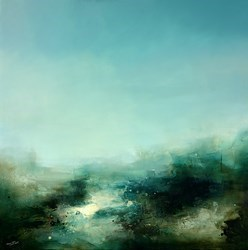 Breath of Summer by Neil Nelson -  sized 47x47 inches. Available from Whitewall Galleries