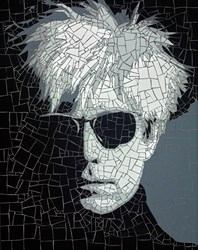 Andy by David Arnott -  sized 24x30 inches. Available from Whitewall Galleries