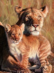 Motherly Love by Pip McGarry -  sized 18x24 inches. Available from Whitewall Galleries