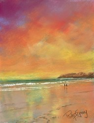 Burning Skies II by Philip Gray -  sized 6x8 inches. Available from Whitewall Galleries