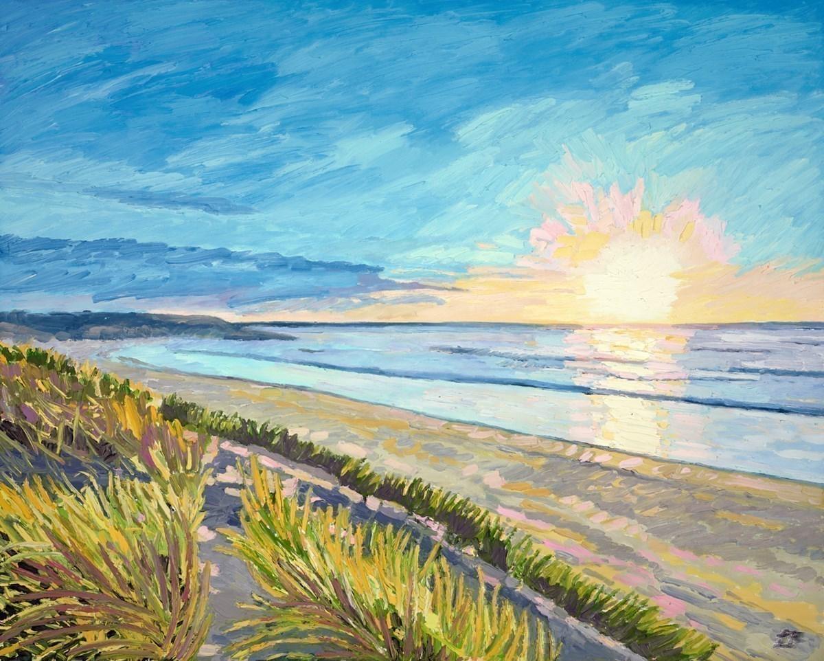Sunburst on the Beach