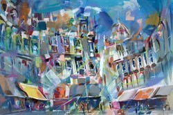 Sundance II by Marijus Jusionis -  sized 47x32 inches. Available from Whitewall Galleries