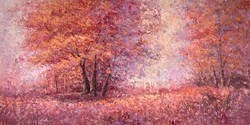 Leaves Falling by Inam -  sized 60x30 inches. Available from Whitewall Galleries