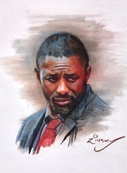 Luther by Zinsky -  sized 11x14 inches. Available from Whitewall Galleries