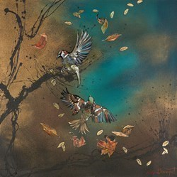 Brothers Above by Kay Davenport -  sized 24x24 inches. Available from Whitewall Galleries