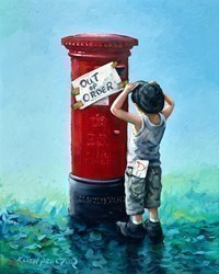 Out of Order by Keith Proctor -  sized 24x30 inches. Available from Whitewall Galleries