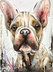 Another Biscuit Please by Samantha Ellis -  sized 30x40 inches. Available from Whitewall Galleries