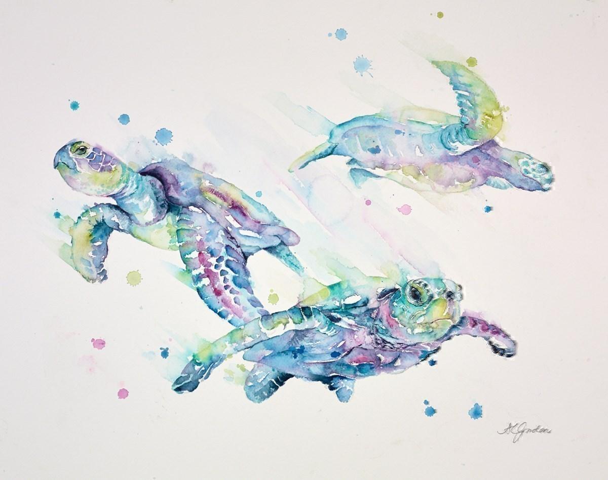Sea Turtle Ballet