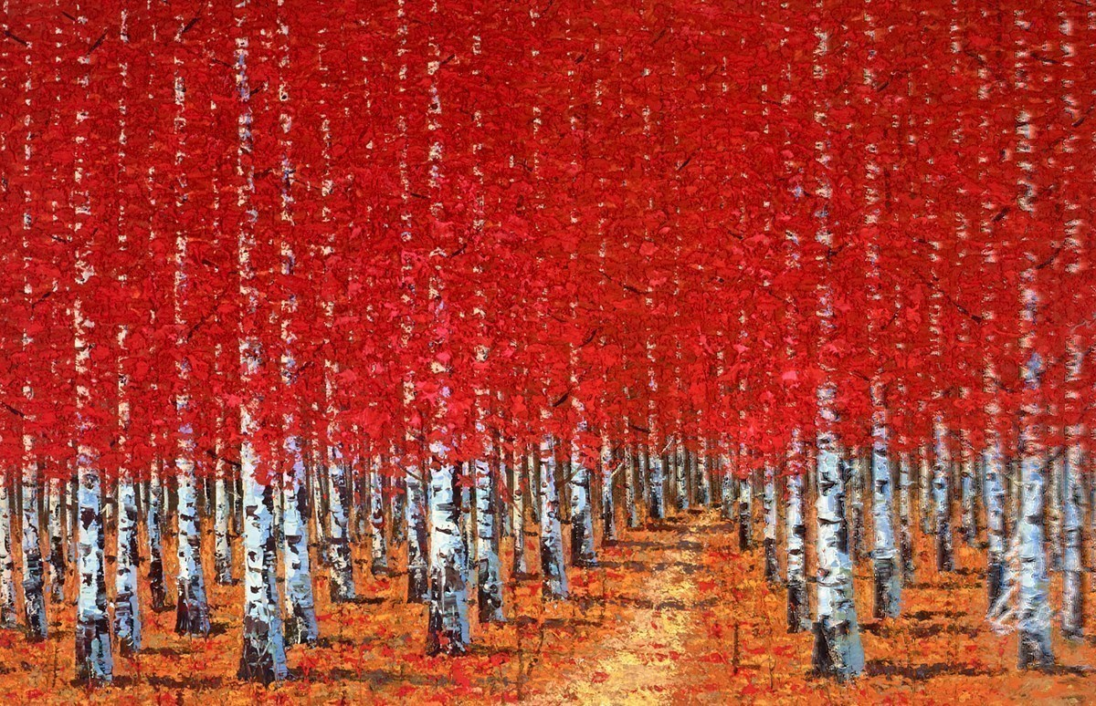 Autumn Mood by Inam -  sized 54x35 inches. Available from Whitewall Galleries