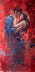 Ode to Joy by Henry Asencio -  sized 24x48 inches. Available from Whitewall Galleries