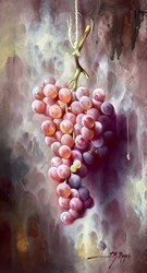 Uvas Rojas V by J M Reyes -  sized 9x16 inches. Available from Whitewall Galleries