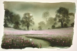 Our Time Study by John Waterhouse -  sized 24x17 inches. Available from Whitewall Galleries