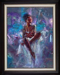 Poetry of Beginnings by Henry Asencio -  sized 30x40 inches. Available from Whitewall Galleries