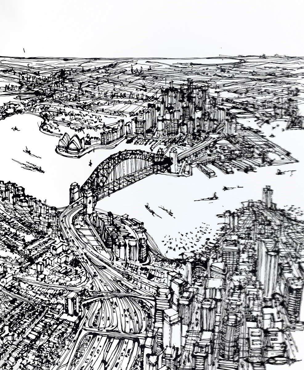 From North Sydney to Dawes Point