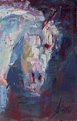 Winter's Profile by Henry Asencio -  sized 16x25 inches. Available from Whitewall Galleries