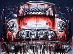 Mini Mad III by Samantha Ellis -  sized 40x30 inches. Available from Whitewall Galleries