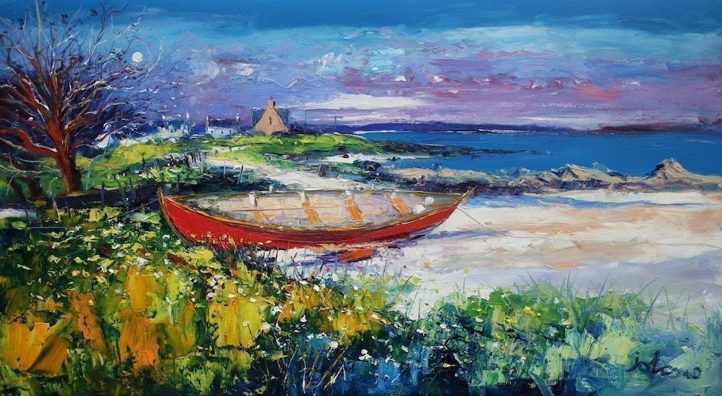 The Red Boat, Isle of Iona