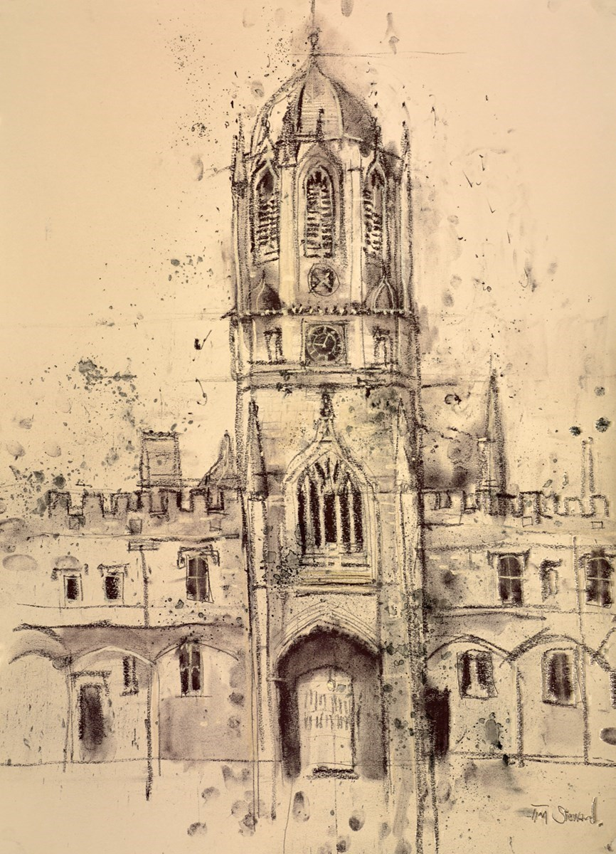 Town Tower, Christchurch College, Oxford