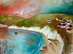 White Cliffs by Keith Athay -  sized 32x24 inches. Available from Whitewall Galleries