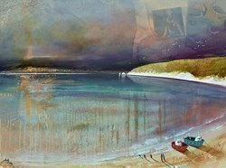 Race to the Sea by Keith Athay -  sized 32x24 inches. Available from Whitewall Galleries