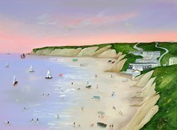 Violet Light by Lucy Young -  sized 32x24 inches. Available from Whitewall Galleries