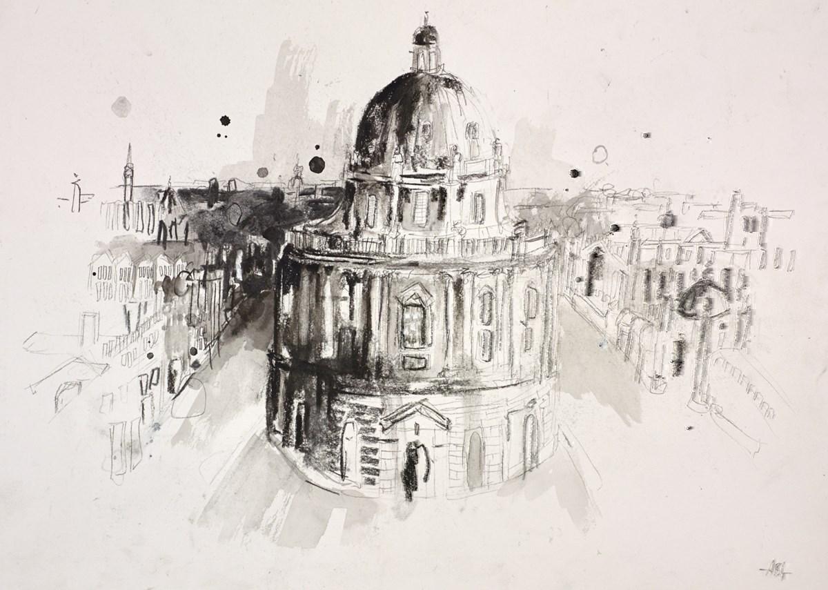 Oxford, Bath Sketch I