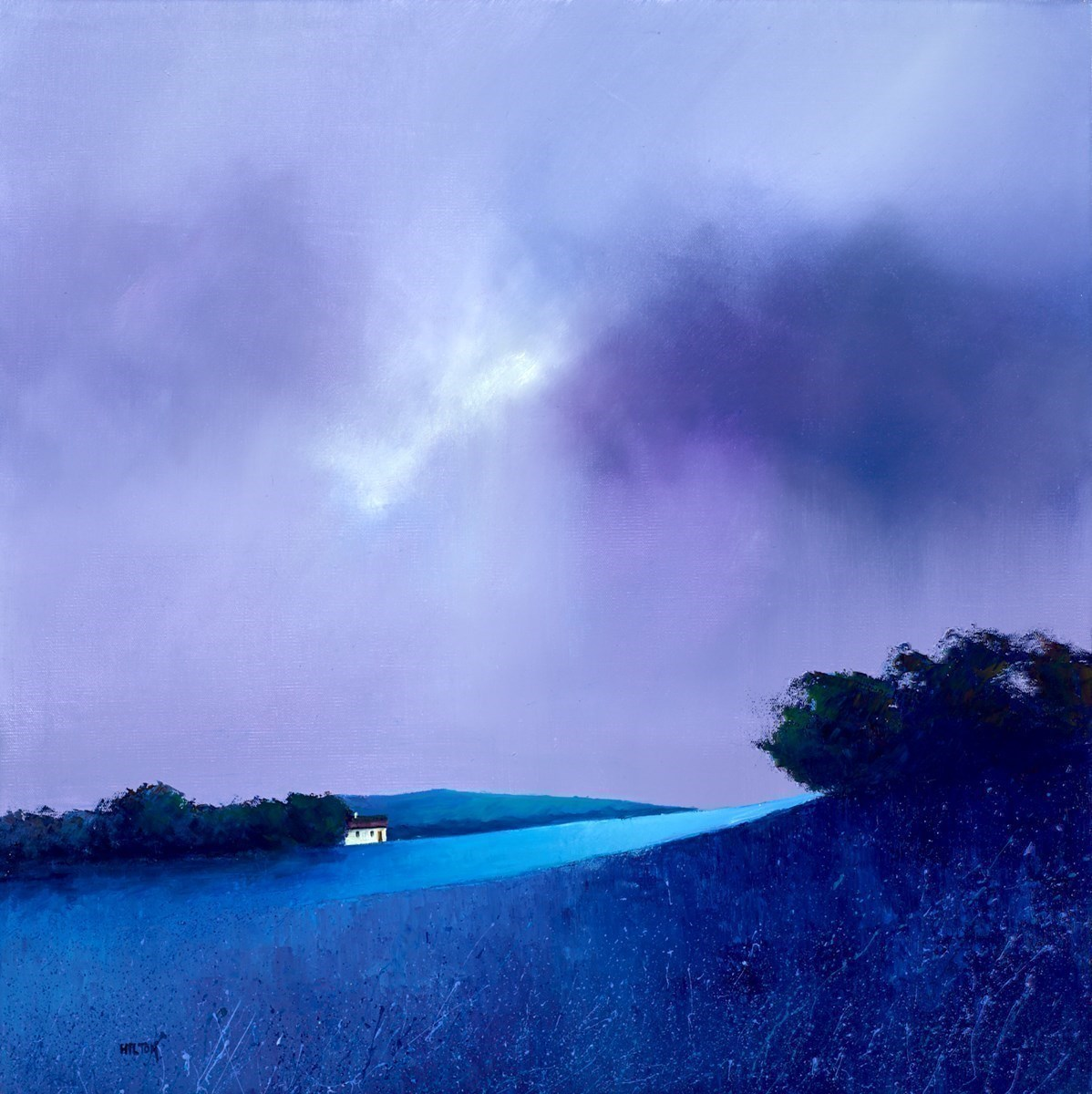 Blue Top Mountain by Barry Hilton -