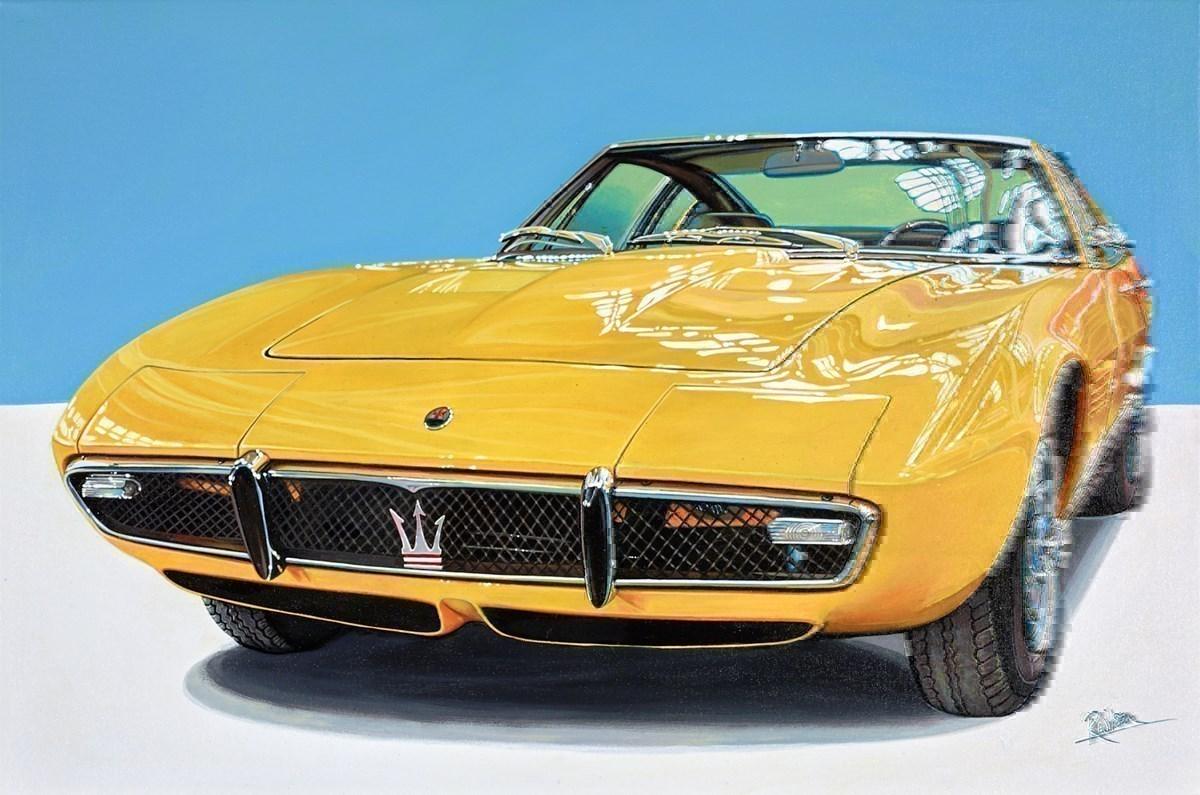 1968 Maserati Ghibli Berlinetta, Chassis No. AM 115578, Originally Owned By Entertainer Sammy Davis Jr
