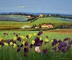 L'Orizzonte I by Bruno Tinucci -  sized 47x39 inches. Available from Whitewall Galleries