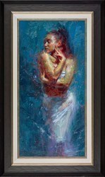 Emerald Embrace  by Henry Asencio -  sized 16x32 inches. Available from Whitewall Galleries