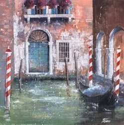 Lungo i Canali di Veneziana by Paolo Fedeli -  sized 20x20 inches. Available from Whitewall Galleries