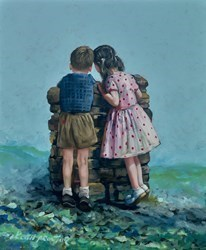 Wishing Well by Keith Proctor -  sized 20x24 inches. Available from Whitewall Galleries