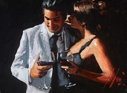 The Proposal VIII by Fabian Perez -  sized 12x9 inches. Available from Whitewall Galleries