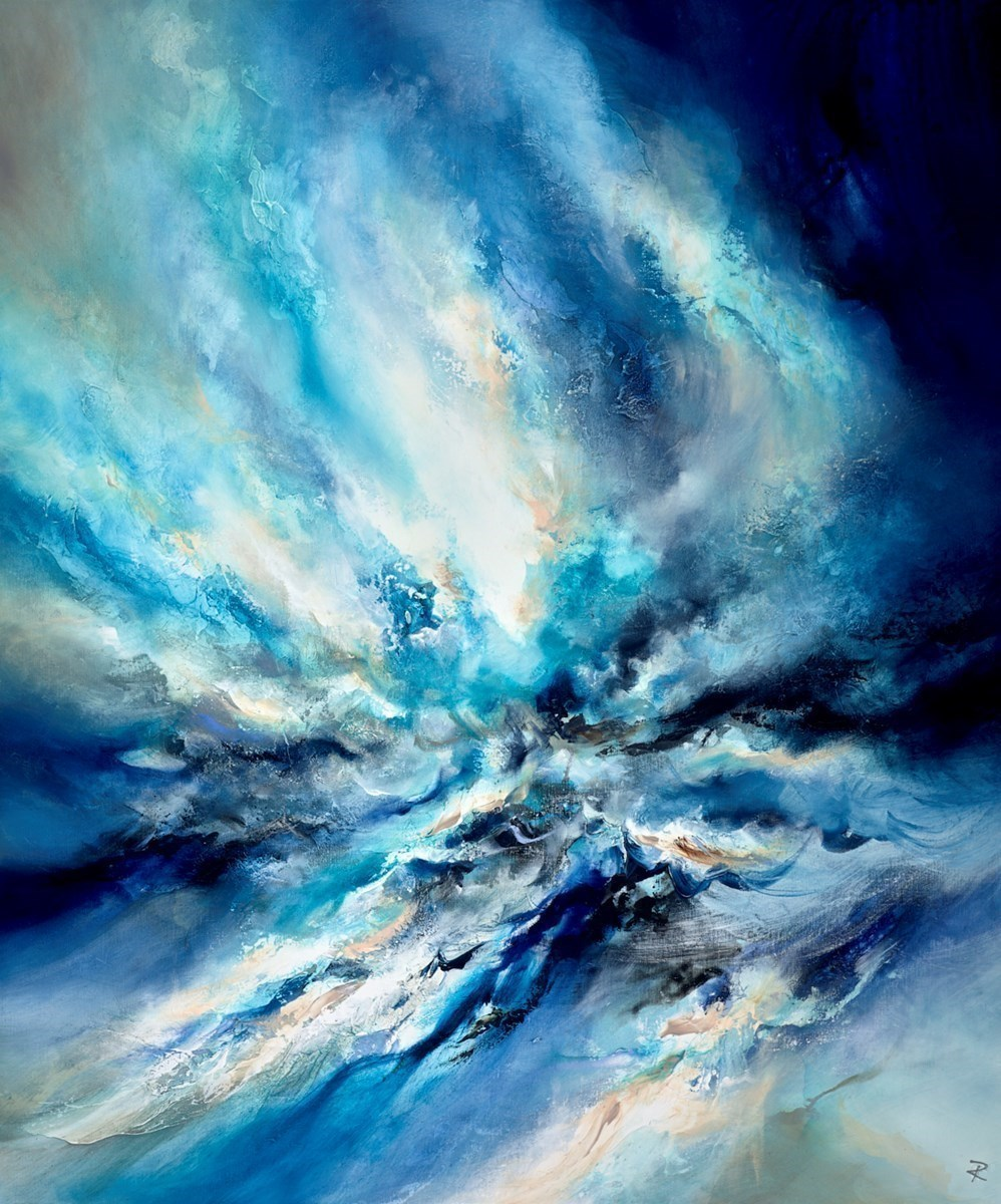 Ocean Spectacle by Chris and Steve Rocks -  sized 39x47 inches. Available from Whitewall Galleries